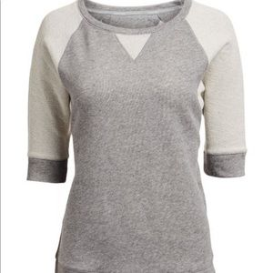 Calvin Klein Sweater Heather Gray Raglan Size XL